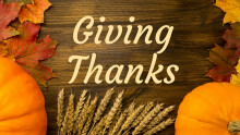 Turning Back To Give Thanks