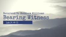 Bearing Witness 6/2/19