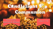 Candlelight and Communion