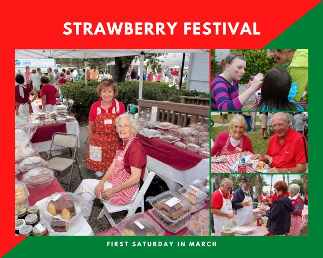 Strawberry Festival Collage
