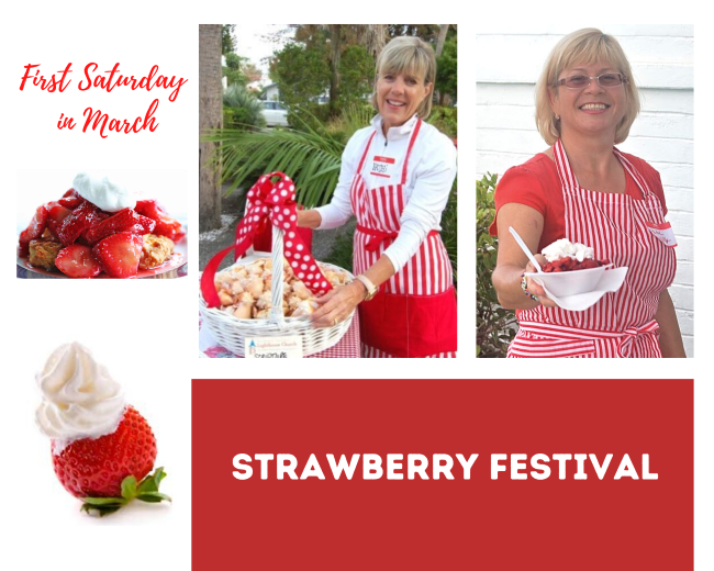 Strawberry Festival Collage UMW